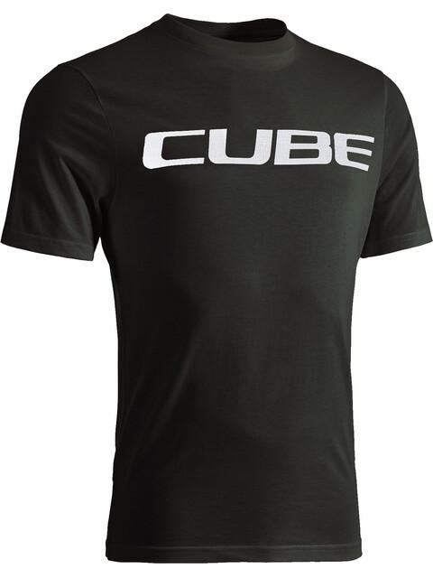 Cube Logo T-Shirt Herren black'n'white